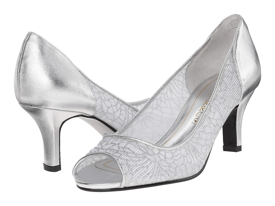 Caparros Bettina (Silver Mesh) Women