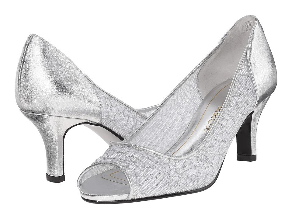 Caparros Bettina (Silver Mesh) Women