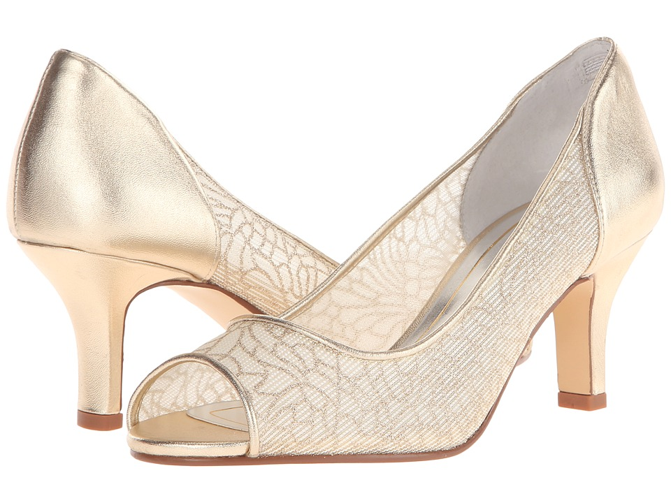 Caparros Bettina (Gold Mesh) Women