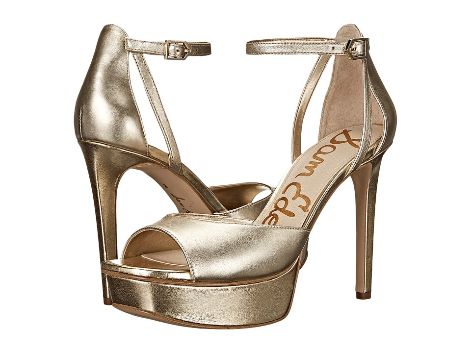 Sam Edelman - Kayde (Jute Soft Metallic Sheep Leather) High Heels