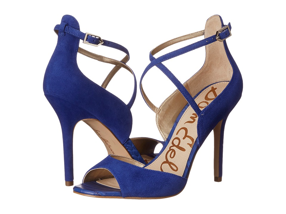 Sam Edelman - Audrey (Blue Suede) Women's Shoes