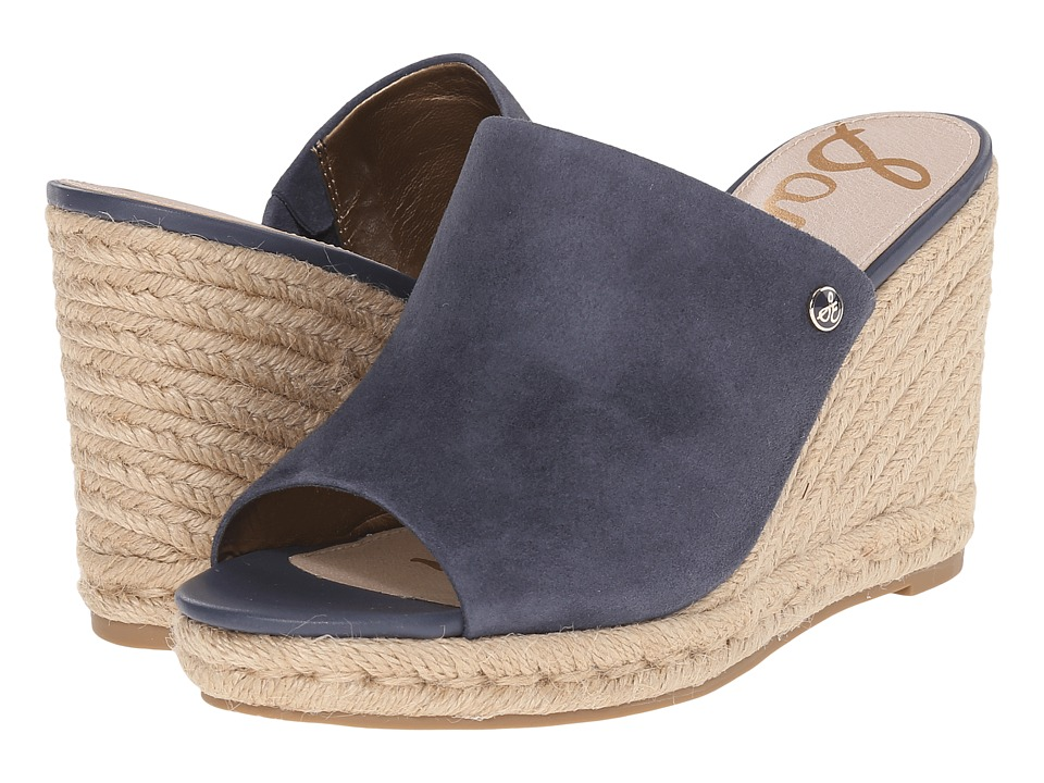 Sam Edelman - Bonnie (Oxide Kid Suede Leather) Women's Wedge Shoes