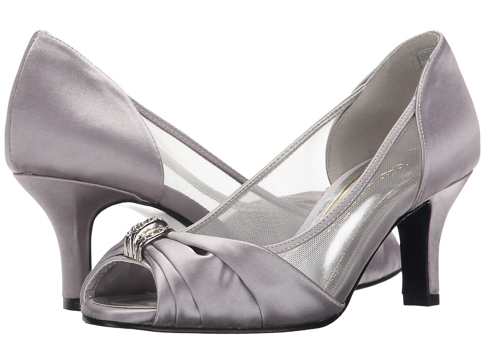 Caparros - Blanche (Silver Satin) Women's Shoes