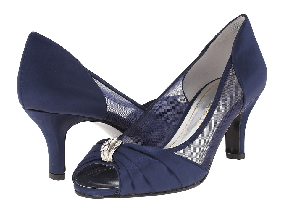 Caparros - Blanche (Navy Satin) Women's Shoes