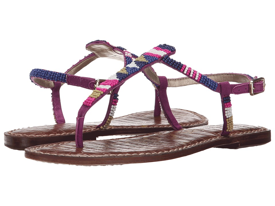 Sam Edelman - Gail (Sailor Blue/Chartreuse Glow Multi Beads) Women's Sandals