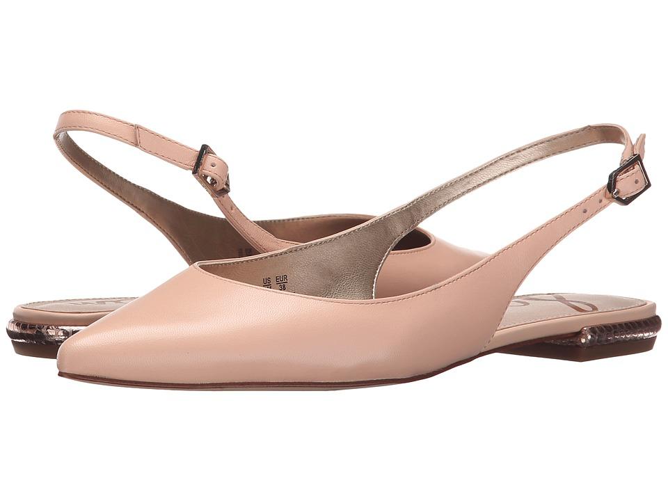 Sam Edelman - Hadley (Soft Nude Talco Kid Leather) Women's Dress Flat Shoes