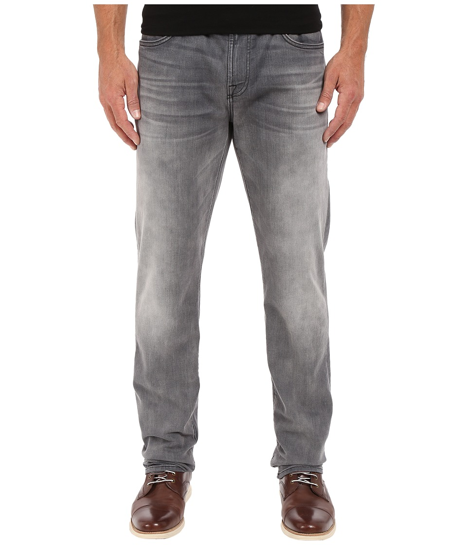 7 For All Mankind - The Straight in Mercury Grey (Mercury Grey) Men's Jeans
