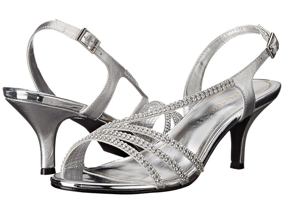Caparros Bethany (Silver Metallic) Women