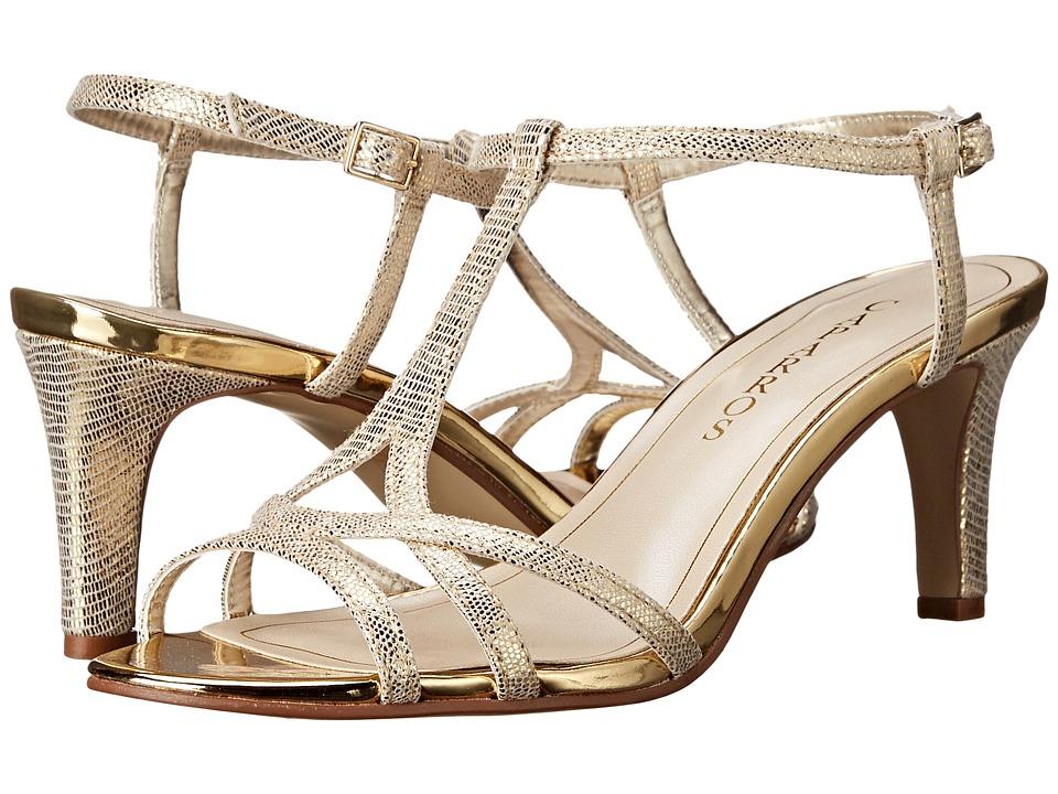Caparros - Bonita (Gold Lizard) Women's Shoes