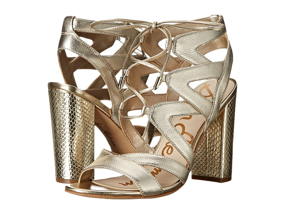 Sam Edelman - Yardley (Jute Tumbled Opal Metallic Leather) High Heels