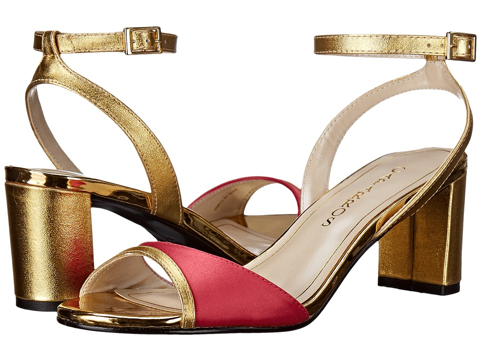 Caparros - Belize (Hibiscus/Gold Sateen) Women's Shoes