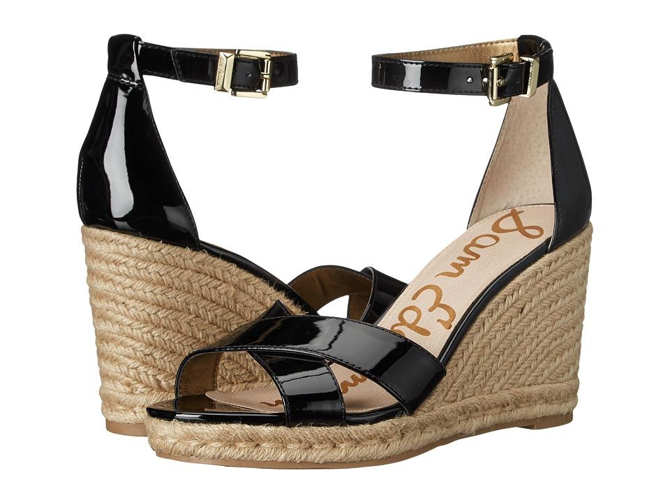 Sam Edelman - Brenda (Black Patent) Women's Wedge Shoes