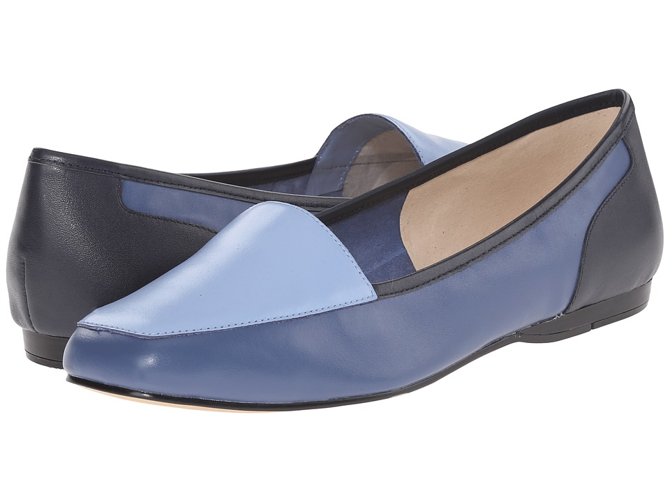 Bandolino - Liberty (Blue Multi Leather) Women's Slip on Shoes