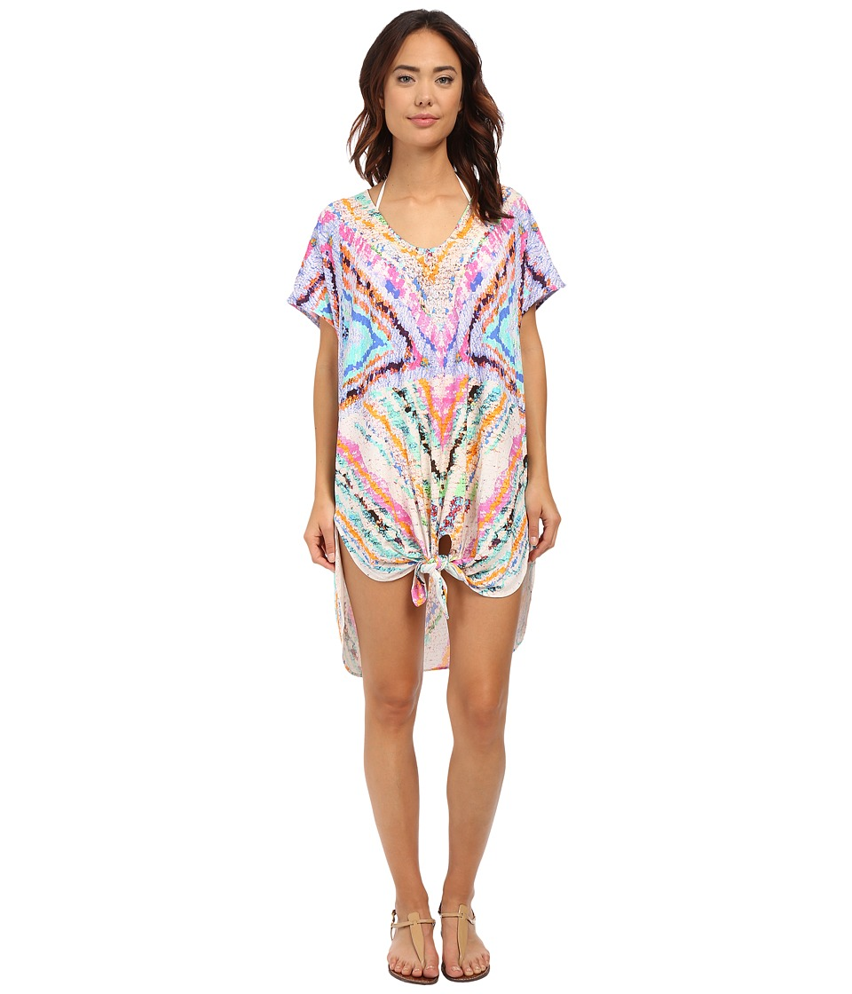 Mara Hoffman - Rainbow Shirt Tie Dress (Multi) Women's Dress