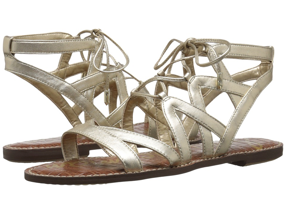 Sam Edelman - Gemma (Jute Soft Metallic Sheep Leather) Women's Sandals