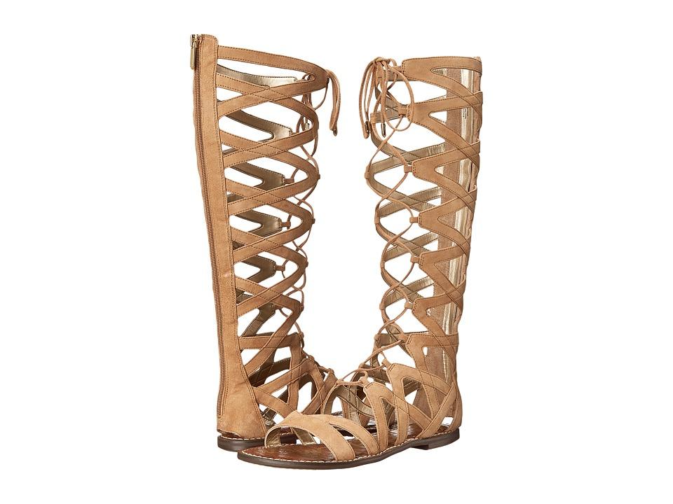 Sam Edelman - Gena (Golden Caramel Kid Suede Leather) Women's Sandals
