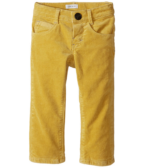 IKKS - Fine Corduroy Pants (Infant/Toddler) (Jaune) Boy's Casual Pants