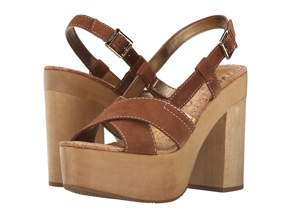 Sam Edelman - Mae (Saddle Velour Suede Leather) High Heels