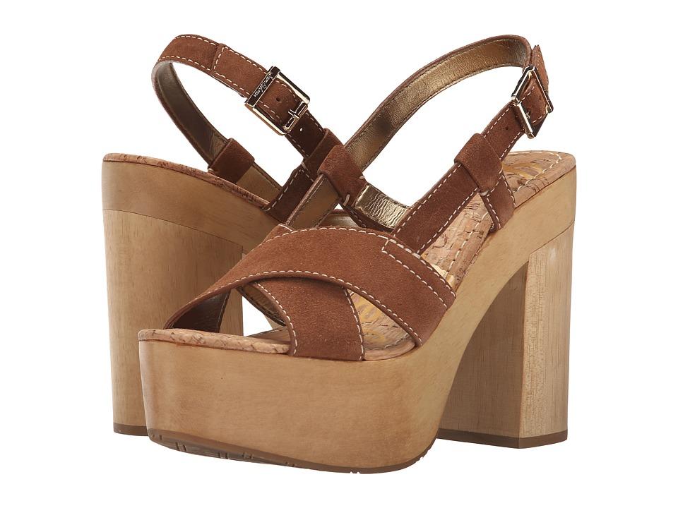 Sam Edelman - Mae (Saddle Velour Suede Leather) High Heels