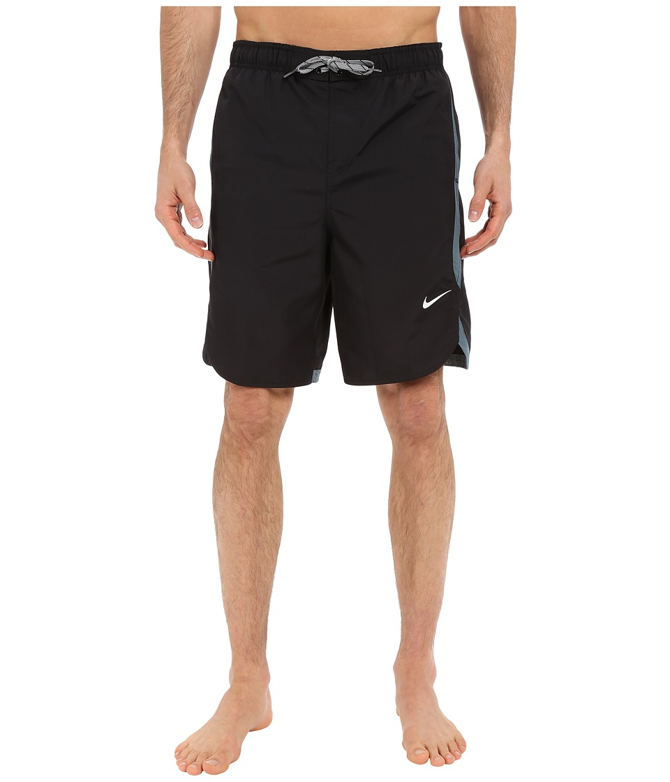 Nike - Core Rapid 9 Volley Short (Black) Men's Swimwear