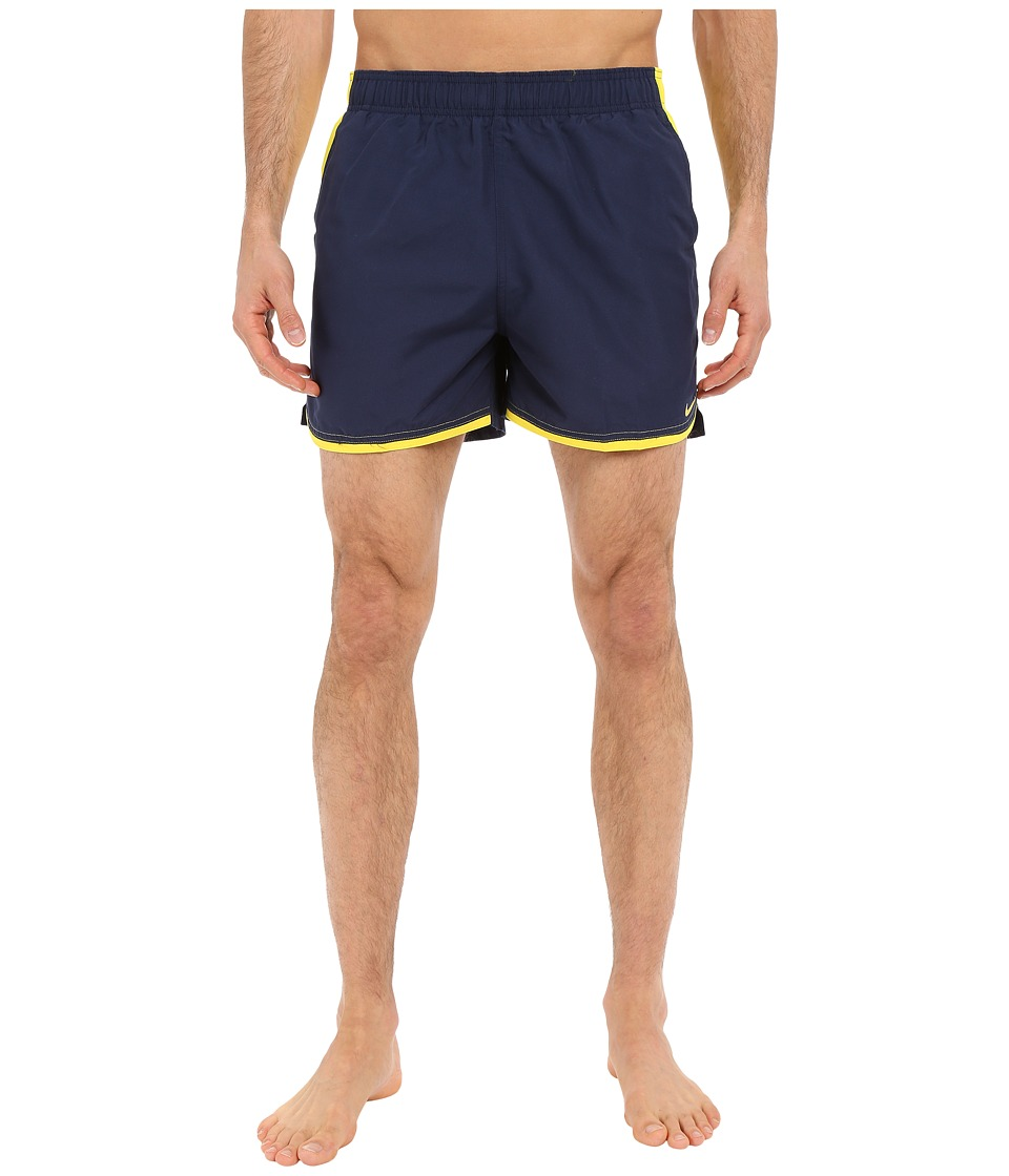 Nike - Color Surge Current 4 Volley Short (Navy) Men's Swimwear