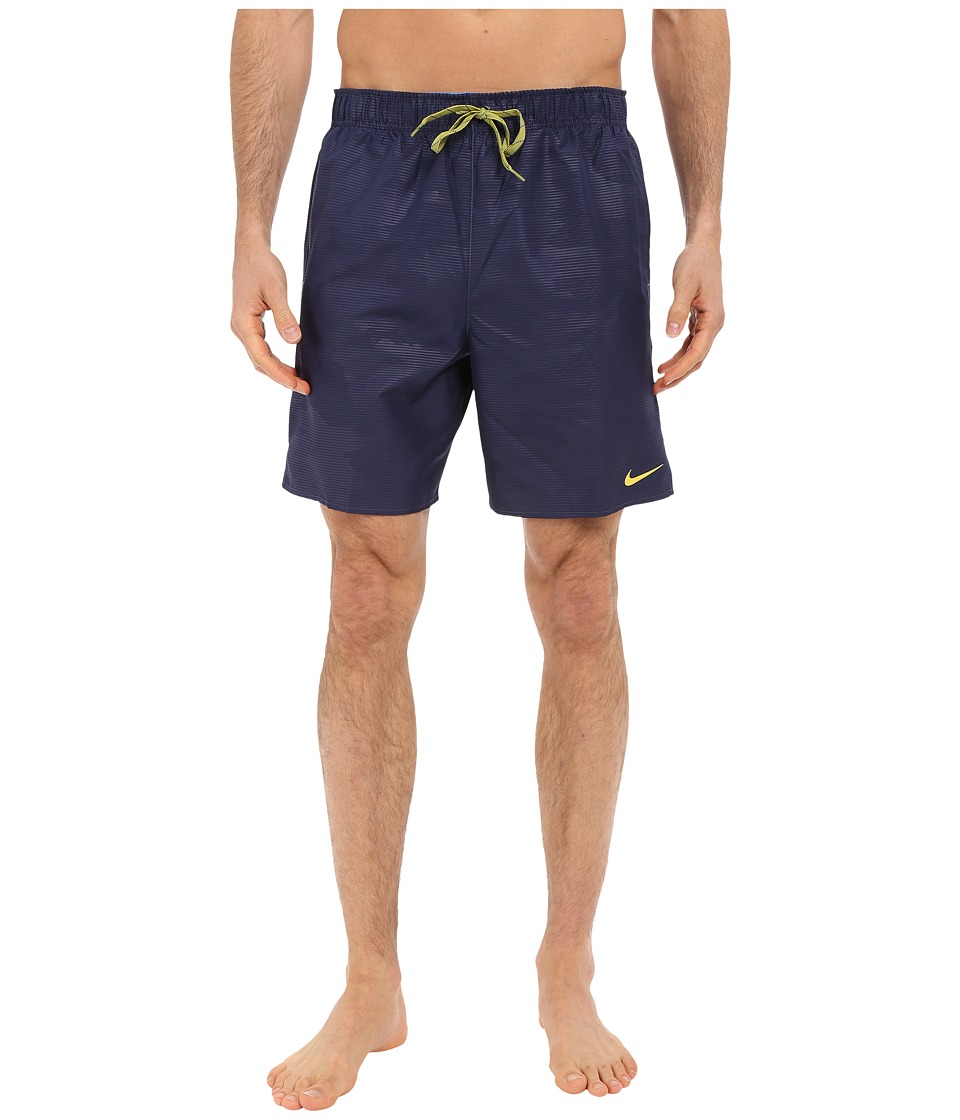 Nike - Core Camocean 7 Volley Short (Navy) Men's Swimwear