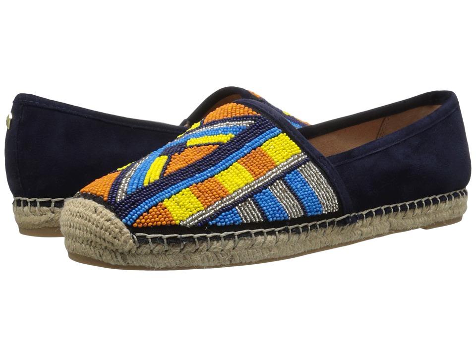Sam Edelman - Maris (Inky Navy Kid Suede Leather) Women's Slip on Shoes