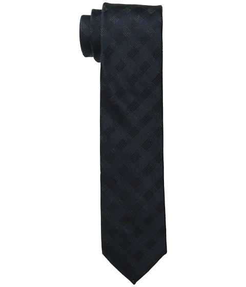 Calvin Klein - Midnight Slim Triple Grid (Midnight) Ties