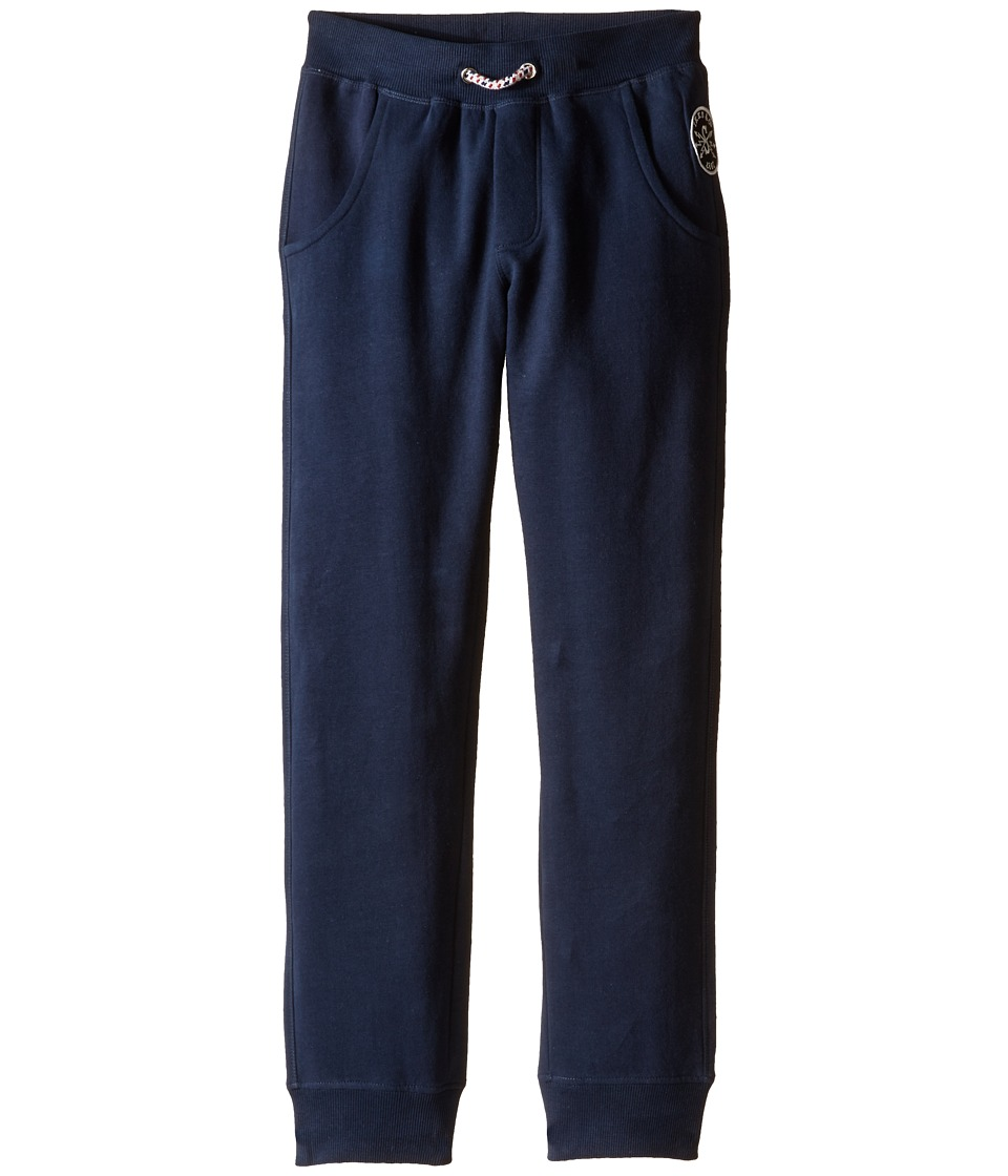 IKKS - Sweat Jogger Pants with Elastic Waistband (Little Kids/Big Kids) (Navy) Girl