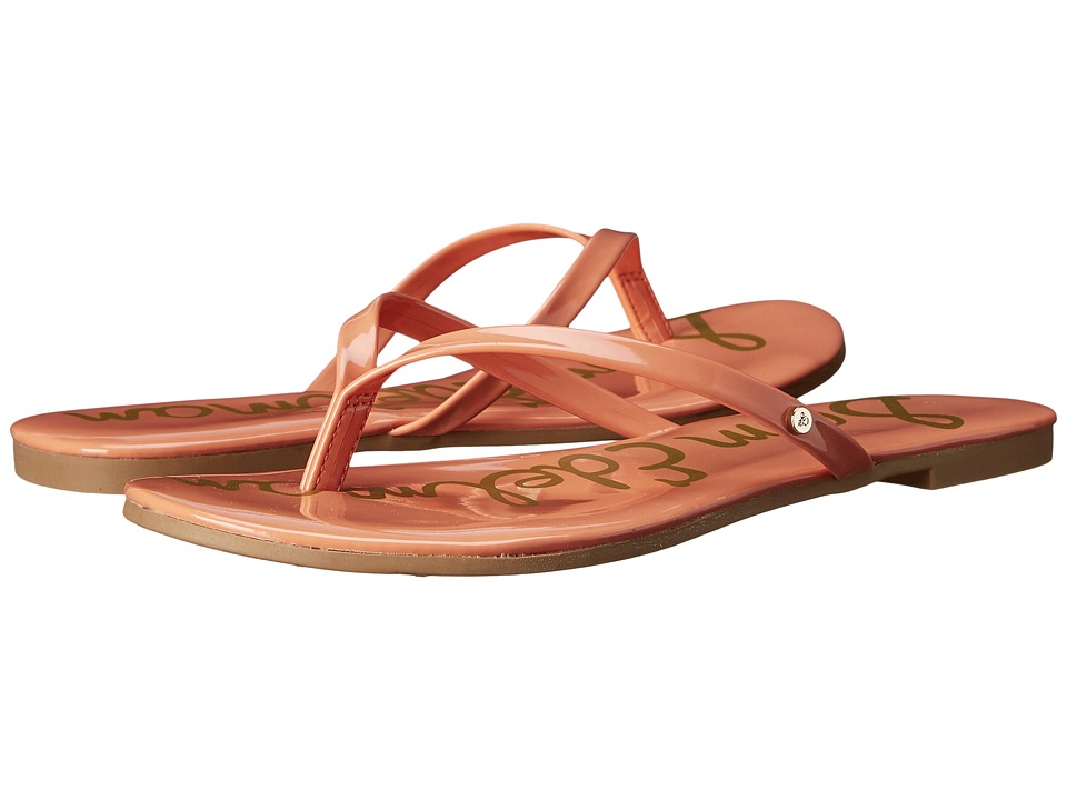 Sam Edelman - Oliver (Papaya Punch Patent) Women's Sandals