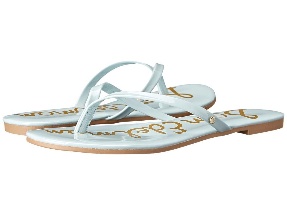 Sam Edelman - Oliver (Eggshell Blue Patent) Women's Sandals