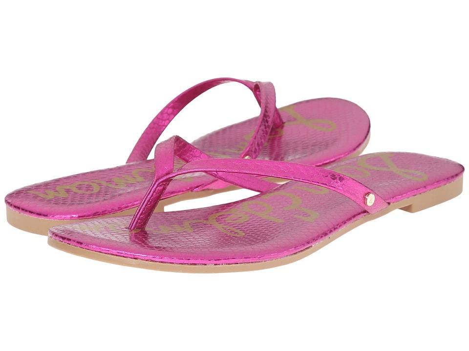 Sam Edelman - Oliver (Pop Fuchsia Bomber Iguana Crom) Women's Sandals