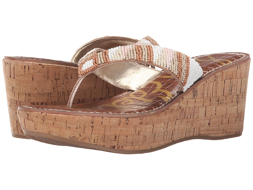 Sam Edelman - Rosa (Bright White/Classic Nude Multi Beads) Women's Sandals