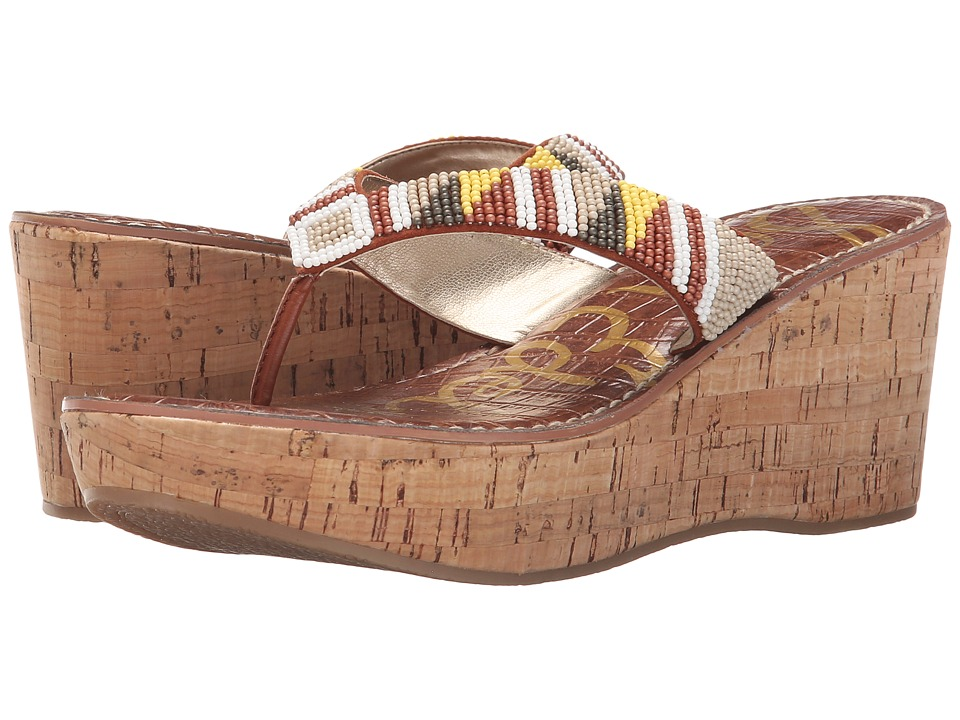Sam Edelman - Rosa (Desert Nude/Ginger Spice Multi Beads) Women's Sandals