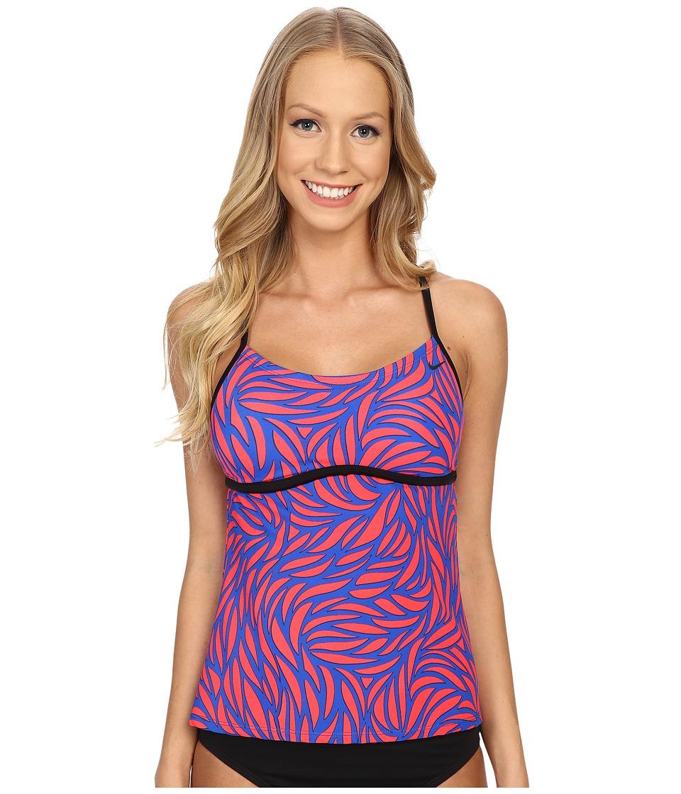 Nike - Current Racerback Tankini (Hyper Cobalt) Women's Swimwear