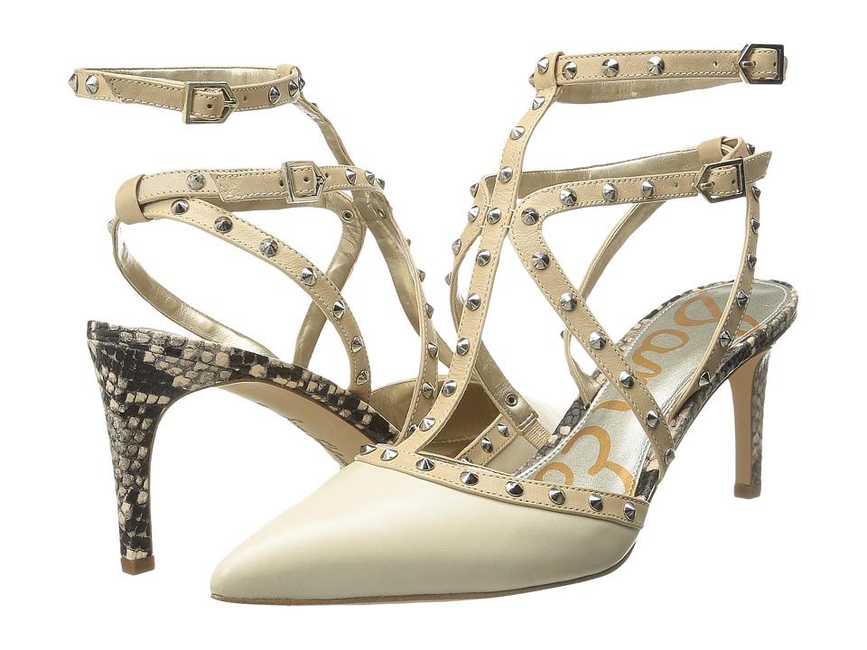Sam Edelman - Ocie (Modern Ivory/Desert Nude Modena Calf Leather/Talco Kid Leather) High Heels