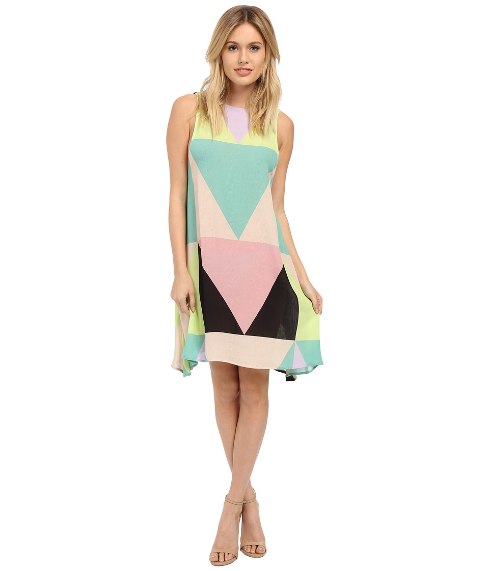 Mara Hoffman - Mosaic Swing Dress (Multi) Women's Dress