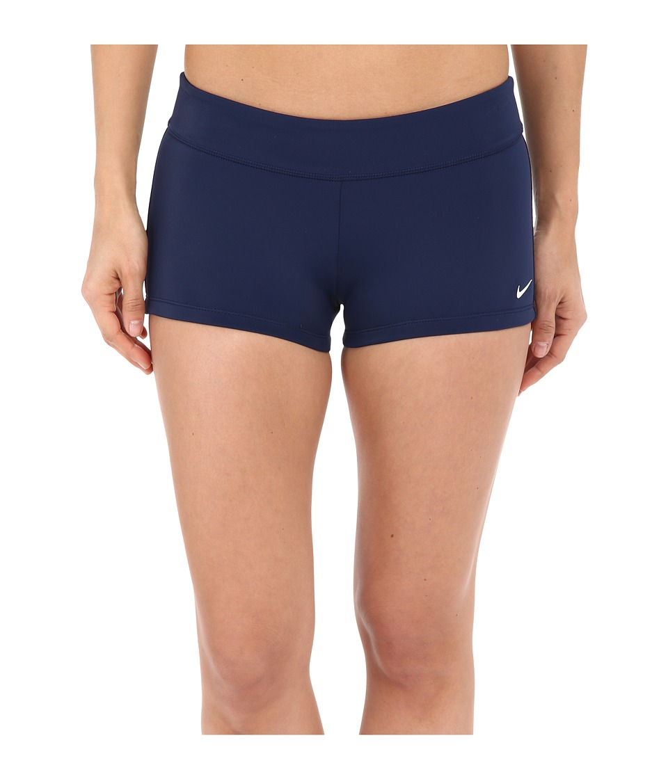 Nike - Core Boyshort (Navy) Women's Swimwear