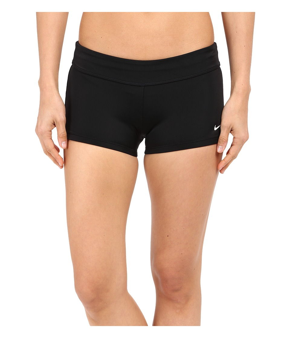 Nike - Core Boyshort (Black) Women's Swimwear