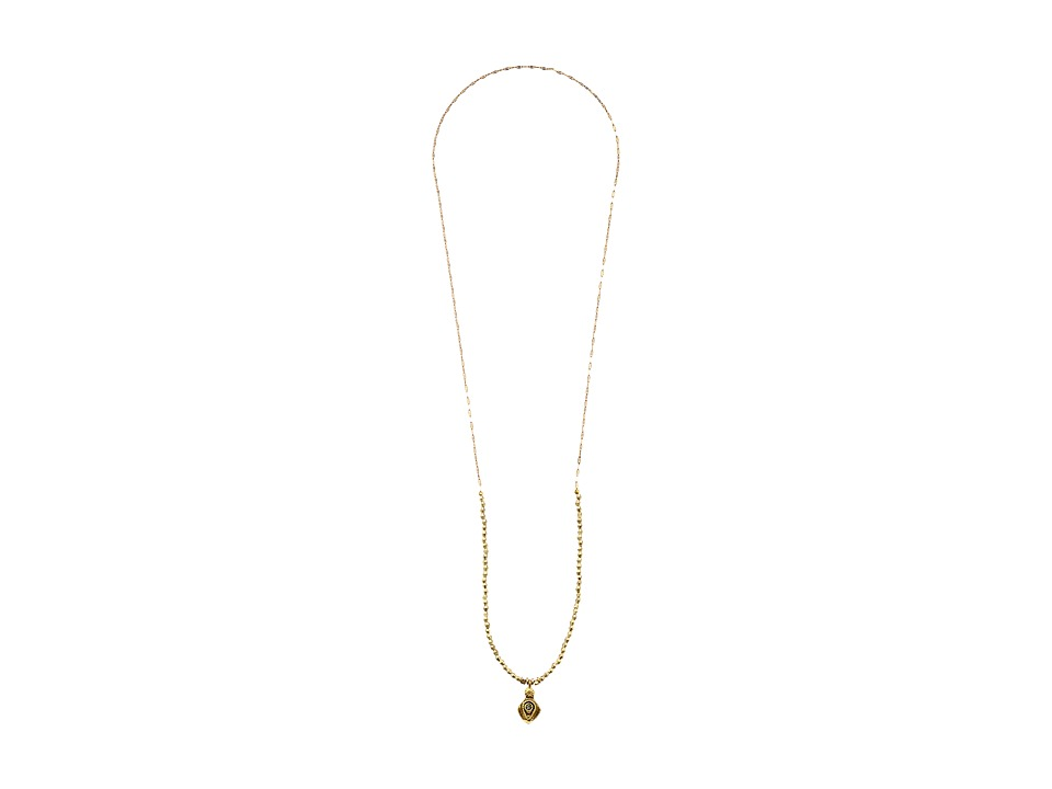 Vanessa Mooney - Call Me Baby Charm Necklace (Gold) Necklace