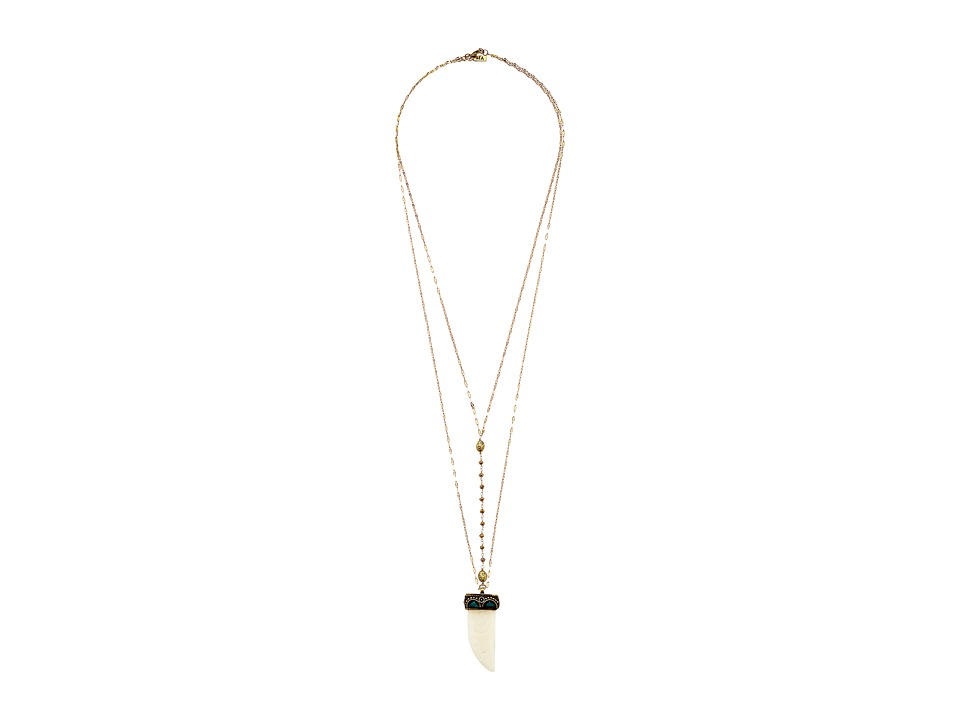 Vanessa Mooney - Time Comes Around Necklace (Gold) Necklace