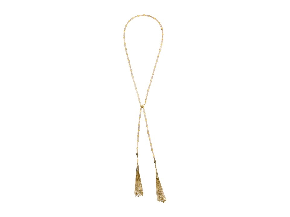 Vanessa Mooney - Shoot To Thrill Wrap Necklace (Brass) Necklace