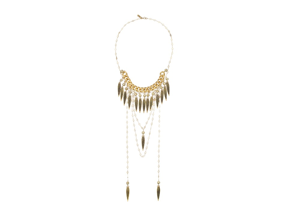 Vanessa Mooney - Girl Named Sue Necklace (Gold) Necklace
