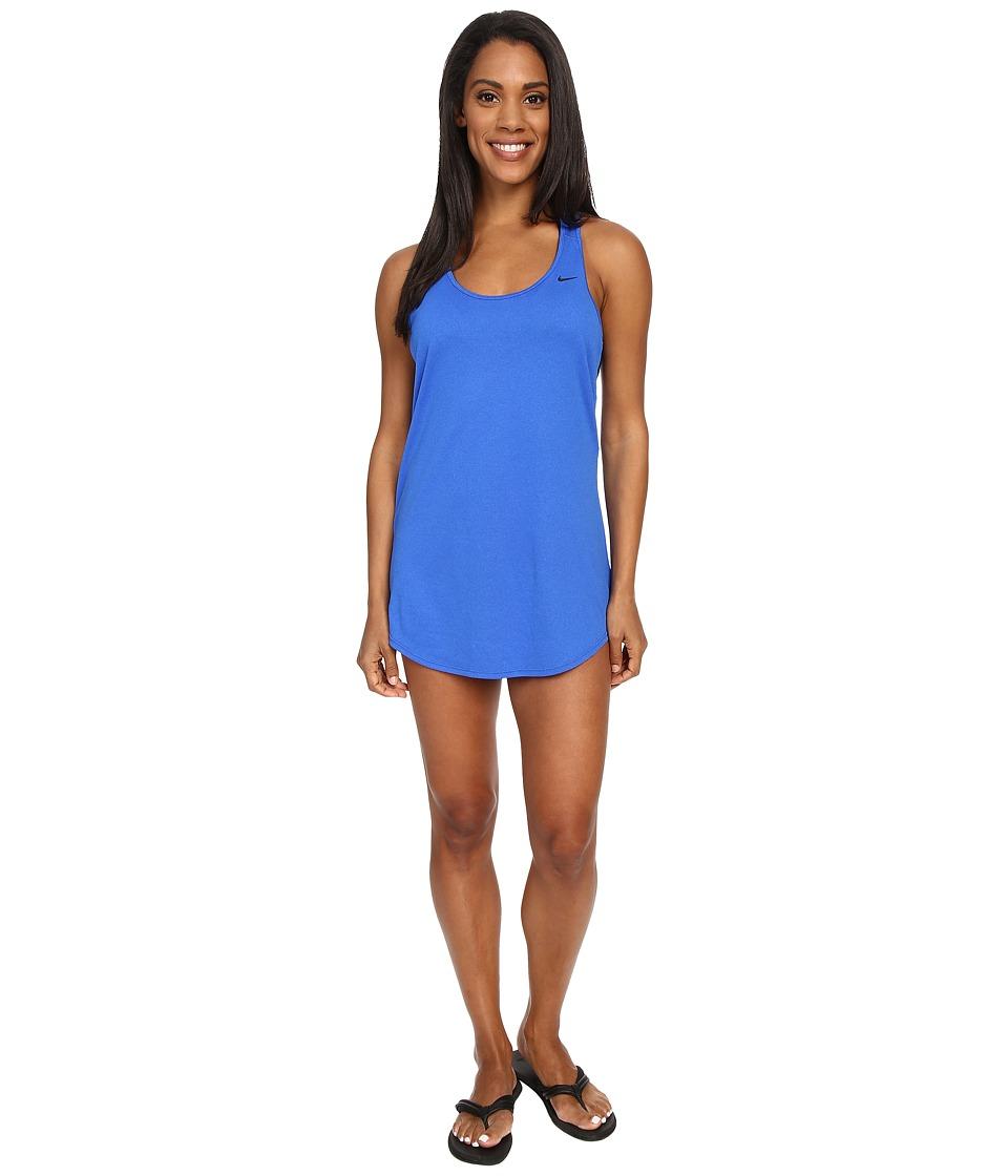 Nike - Cover-Up Swim Tank Dress (Hyper Cobalt) Women's Swimwear