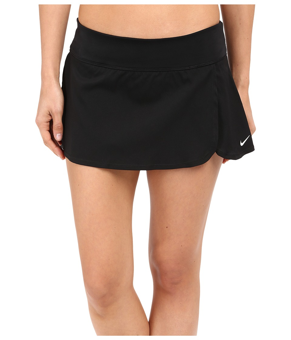 Nike - Core Swim Boardskirt (Black) Women's Swimwear