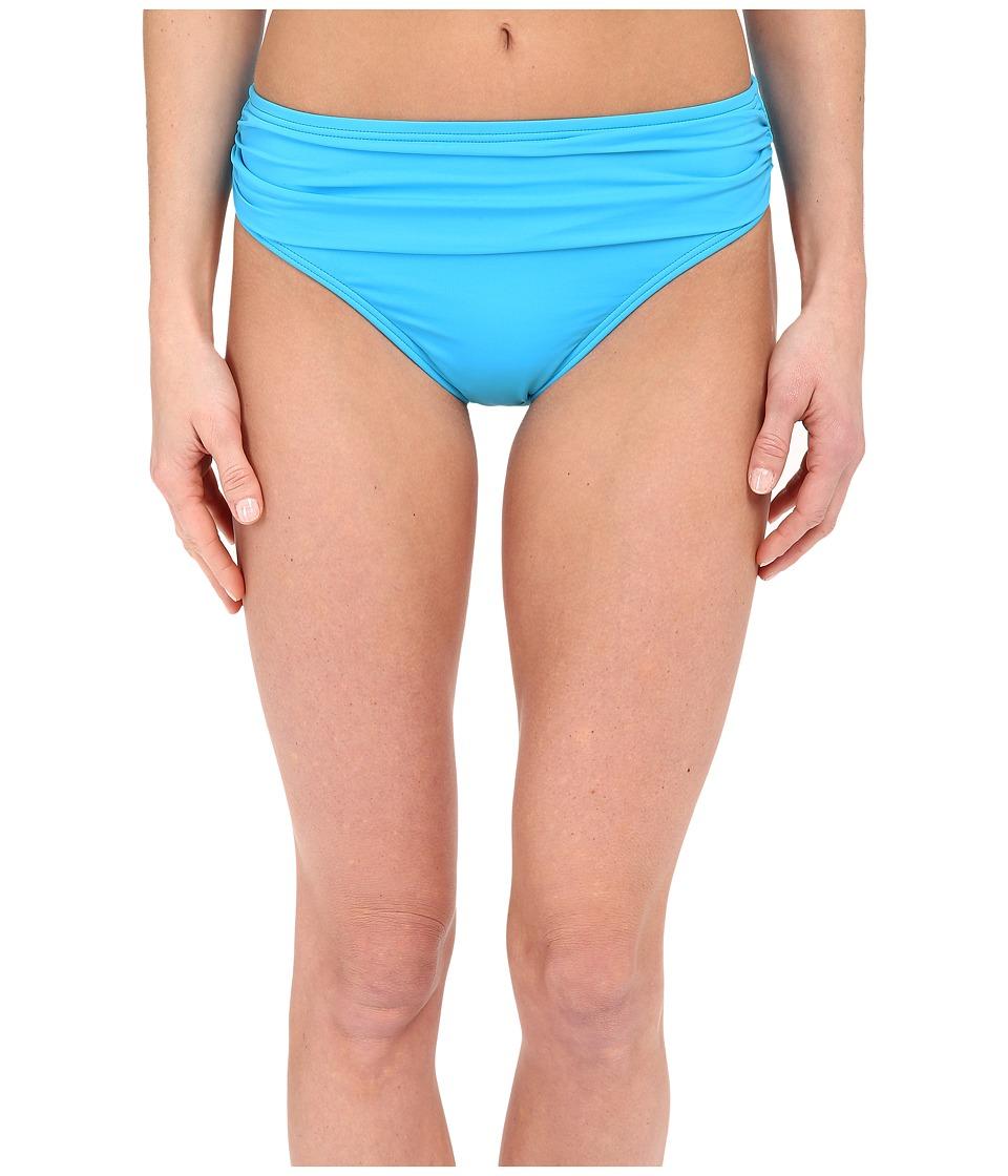 Tommy Bahama - Pearl Solids High Waist Sash Pants (Island Blue) Women's Swimwear