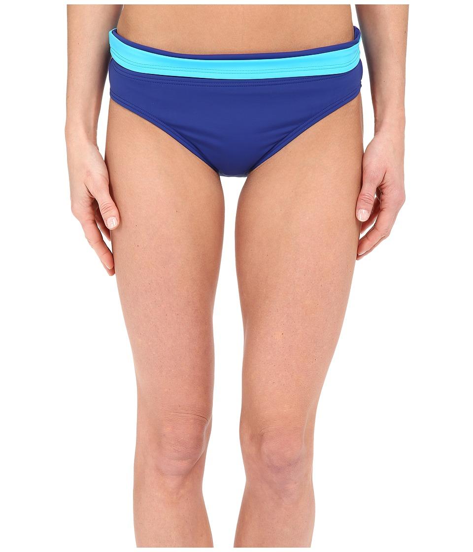 Tommy Bahama - Deck Hipster w/ Wide Band (Mazarine Blue) Women's Swimwear
