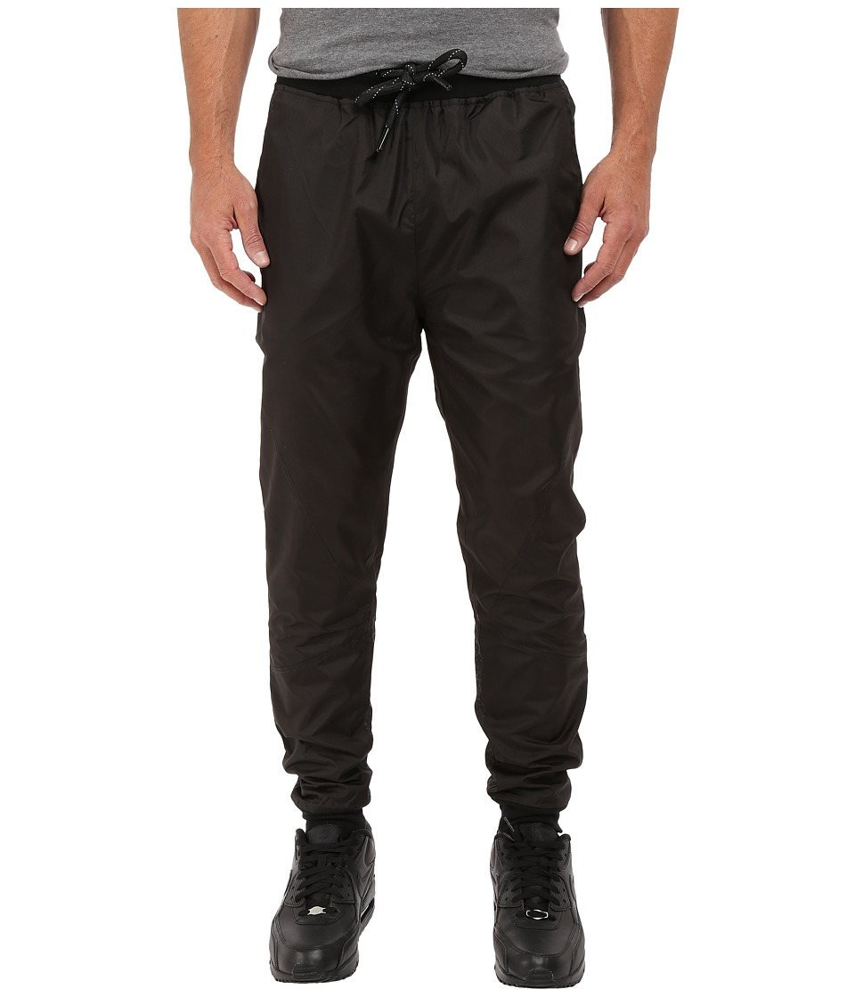 Staple - Chromatic Nylon Joggers (Black) Men's Casual Pants