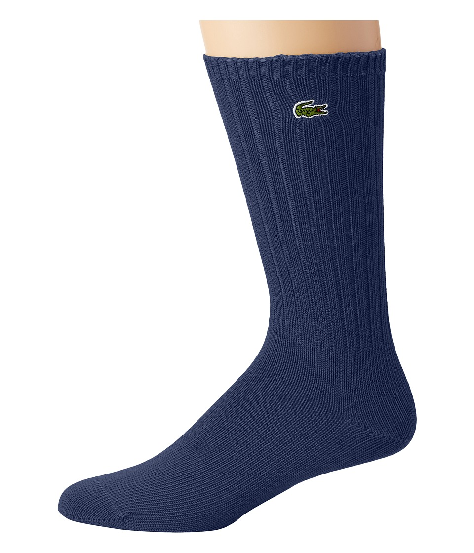 Lacoste - Classic Crew Sock (Tourmaline Chine) Men