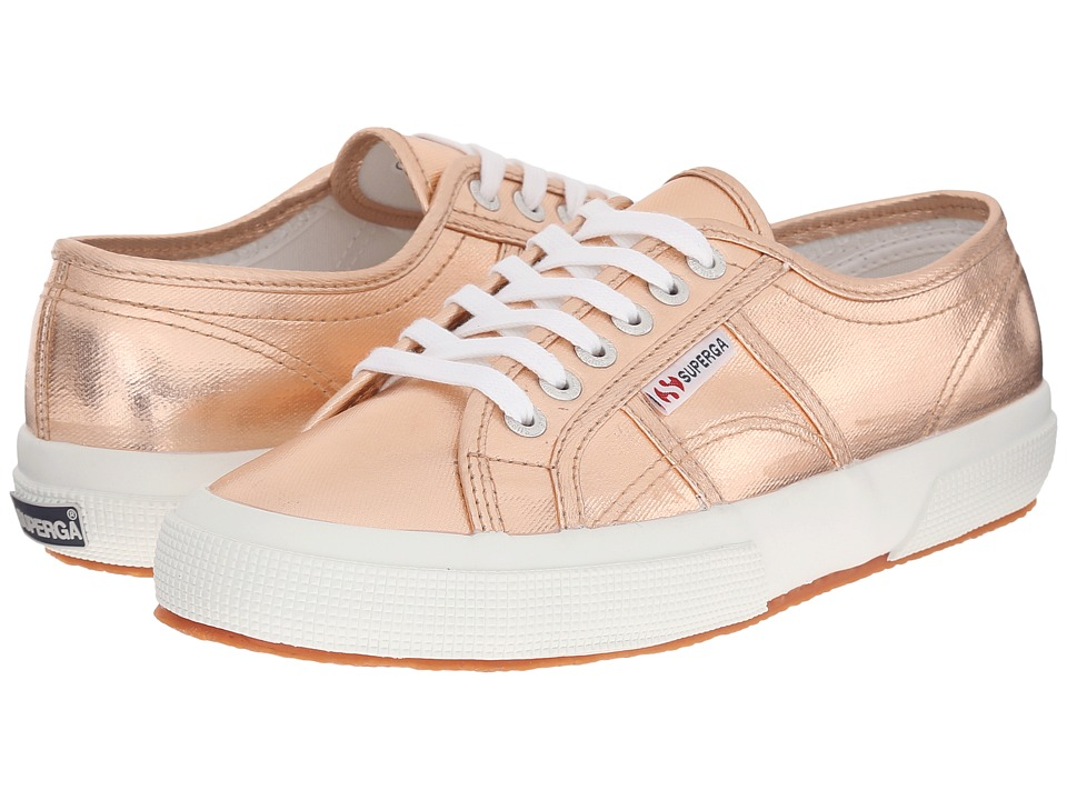 Superga - 2750 COTMETU (Rose Gold) Women's Lace up casual Shoes